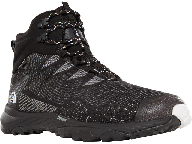 The North Face Ultra Fastpack III Mid GTX Woven Chaussures Homme, tnf black/tnf white